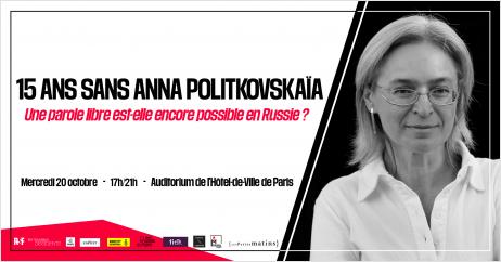 """Conférence exceptionnelle """"Une parole libre est-elle encore possible en Russie ?"""""""