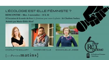 Débat-rencontre - L'écologie est-elle féministe ?